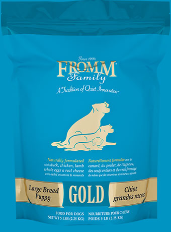 Large Breed Puppy Gold Dog Food Fromm Family Foods