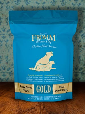 Large Breed Puppy Gold