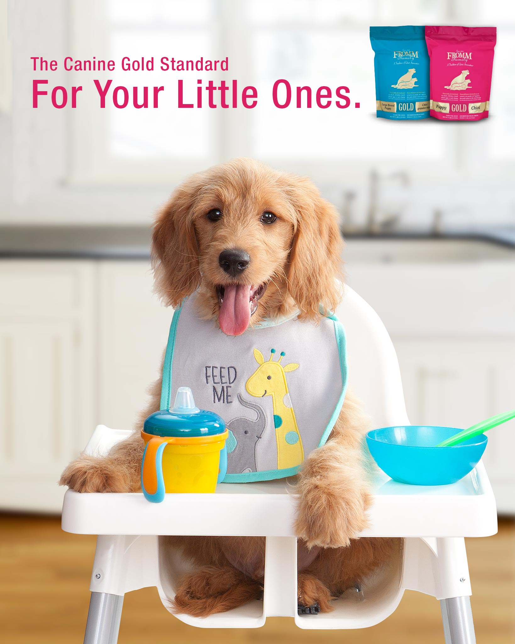 Puppy Gold Dog Food Fromm Family Foods
