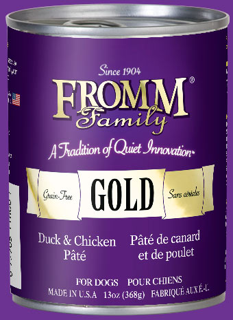 Gold Grain Free Cans Wet Food Fromm Family Foods