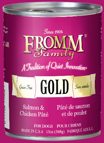 Salmon Amp Chicken P 226 T 233 Dog Food Fromm Family Foods